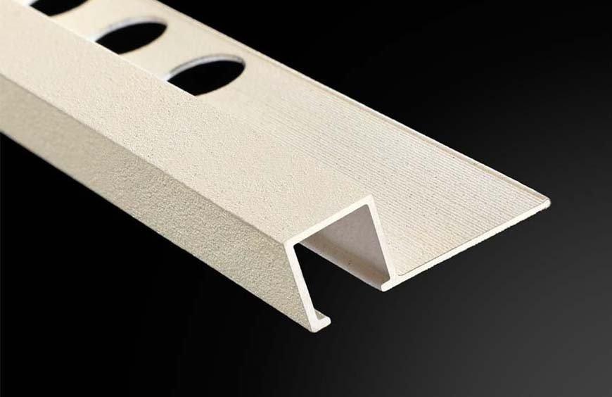 Nuevos perfiles con acabado granilla de Plasdecor