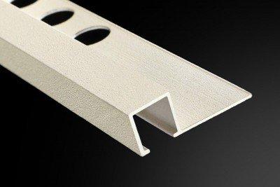 Perfil y Listelo Cuadrado Aluminio Granillas