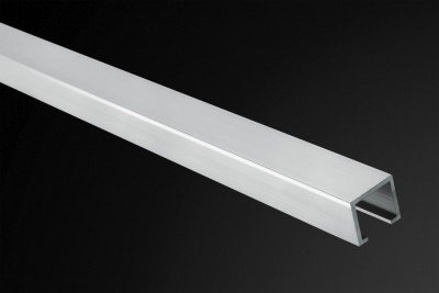 Listelo U-10 Aluminio