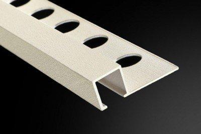 Profilé et Listel Aluminium Carré Granit